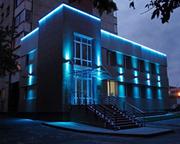 Подсветка фасадов (архитектурная подсветка)