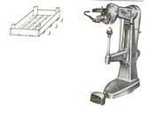 Оборудование Corali для производства деревянного евро ящика.