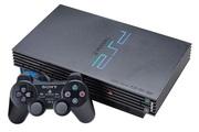 Sony PlayStation 2 ,  модель SCPH-50008 + 18 дисков