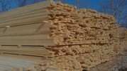 лес. пиломатериалы по низким ценам от 4300 до 7000 ты. руб за куб