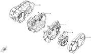 Двигатель и другие запчасти cfmoto x6