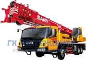 Автокран SANY 25 тонн в аренду