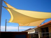 Изготовление и установка шатров  и теневых навесов парус