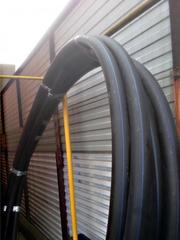 Труба ПЭ 100 для воды D=63х3.8,  38 метров